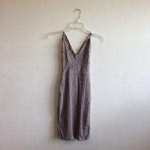 Lacey Purple Dress